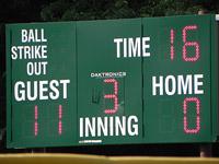 Nikon P100 Baseball Field (tele)