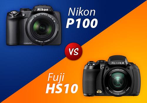 Nikon P100 vs Fuji HS10