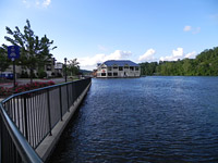 Nikon P100 Lake House (wide)