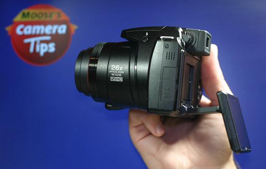 Nikon P100 LCD