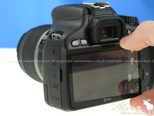 GGS LCD Screen Protector - © copyright cameratips.com
