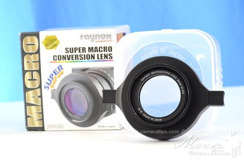 Raynox DCR-250 - © Copyright Cameratips.com