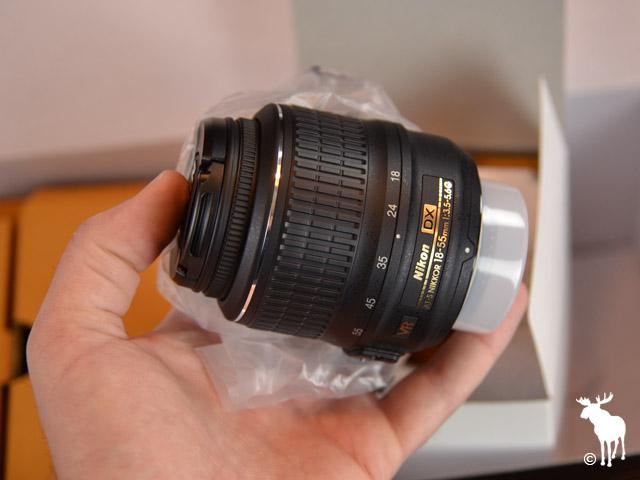 Nikon D5100 Kit Lens