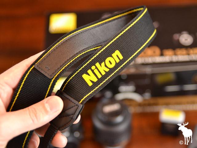 Nikon D5100 Strap