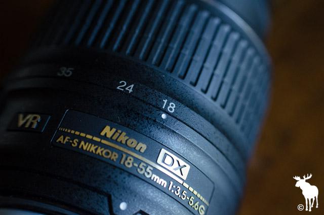 Nikon 18-55mm Lens at 18mm