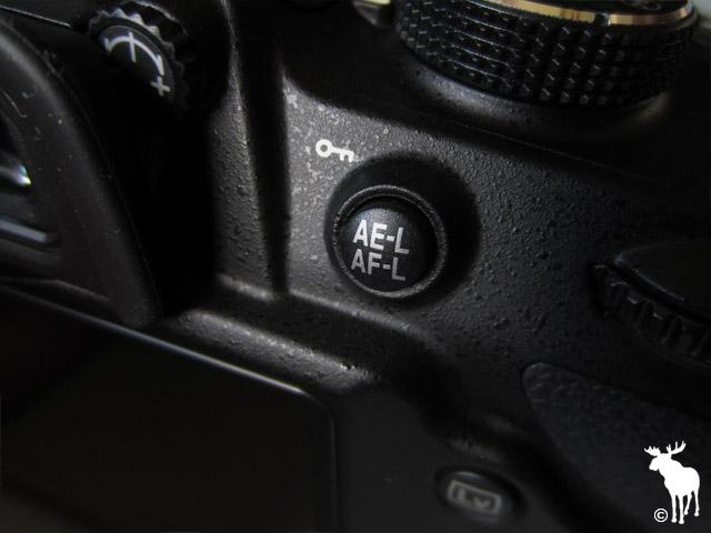 Nikon D3200 AE-L/AF-L Button